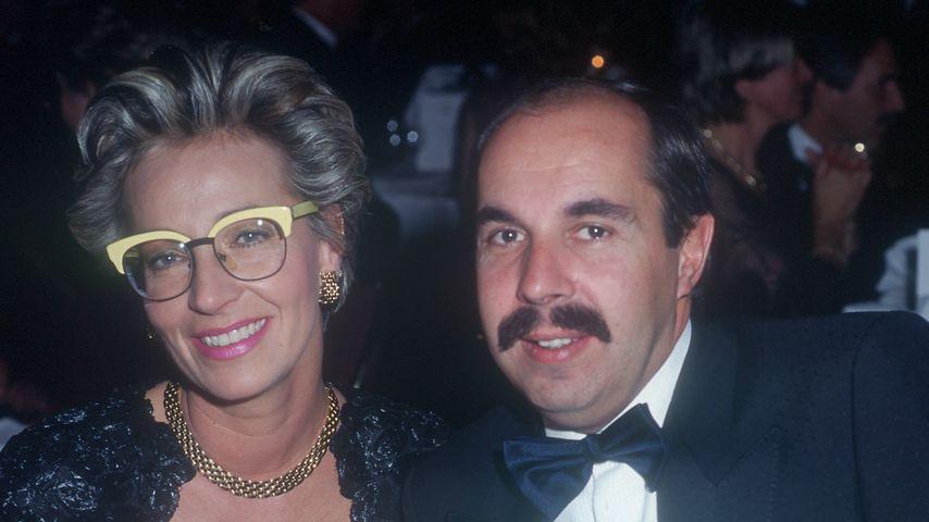 Ilona Christen mit ihrem Mann Ambros