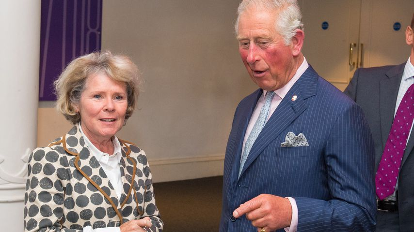 Imelda Staunton und Prinz Charles