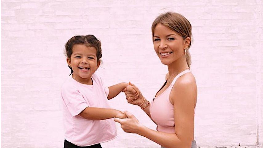 Ina Aogo mit ihrer Tochter Payton Rose