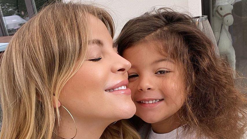 Ina Aogo und ihre Tochter Payten