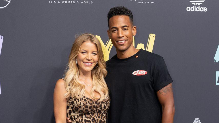 Ina und Dennis Aogo im Juli 2019