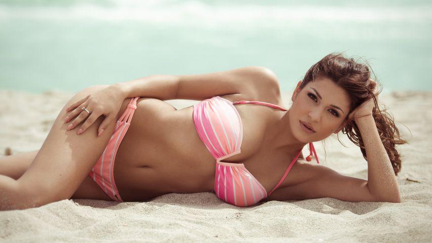 """Bachelor""-Kandidatin Inci Sencer am Miami Beach"