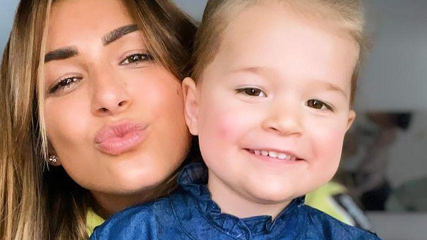 Inci Sencer mit ihrer Tochter Mila