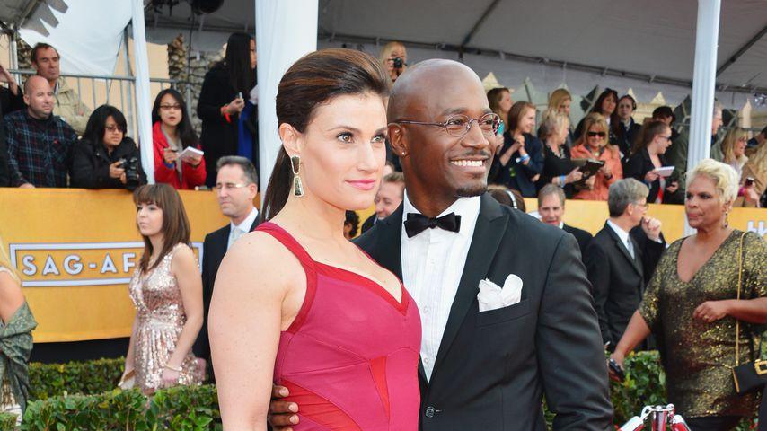 Indina Menzel und Taye Diggs bei den Screen Actors Guild Awards 2013