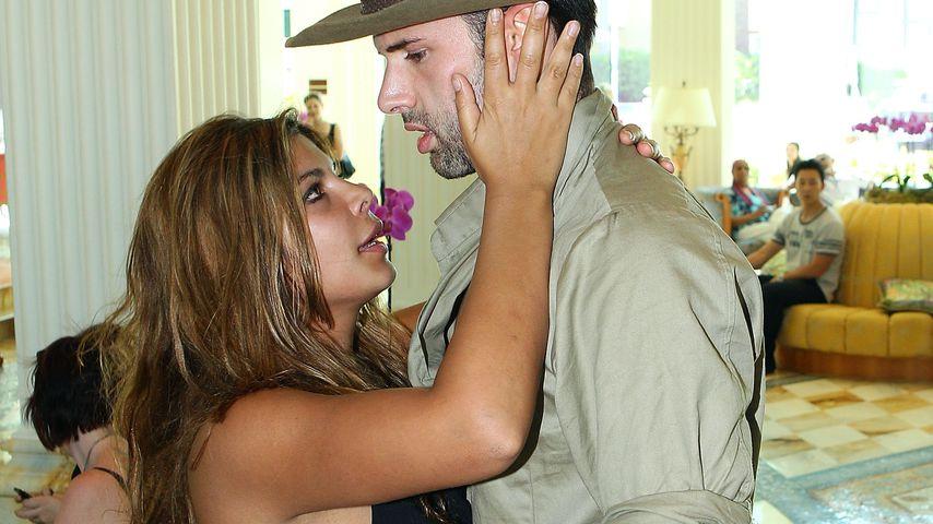Indira Weis und Jay Khan im Versace Hotel im Januar 2011