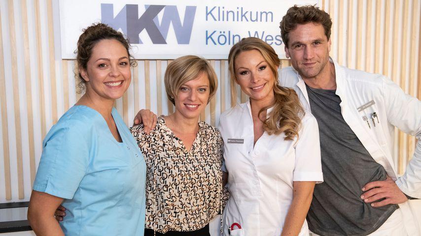 Ines Kurenbach, Juliette Greco, Jana Schölermann und Oliver Franck