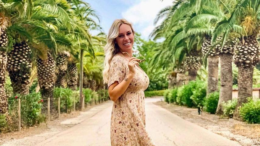 Influencerin Julia Holz auf Mallorca