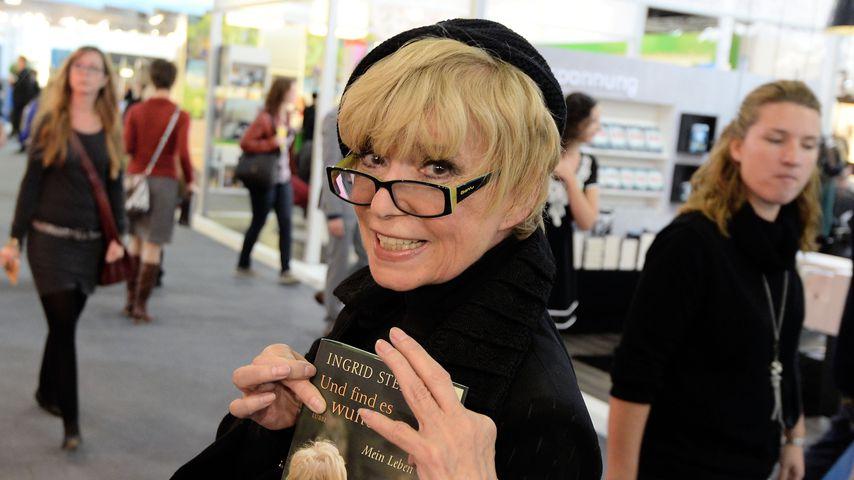 Ingrid Steeger auf der Frankfurter Buchmesse 2013