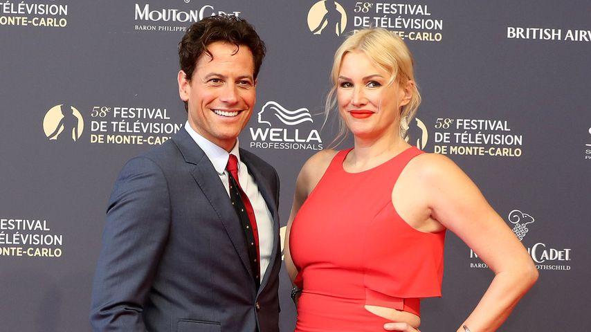 Ioan Gruffudd und Alice Evans im Juni 2018