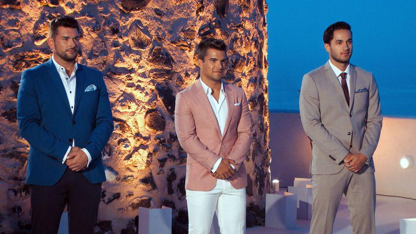 Bachelorette-Kandidaten Ioannis, Daniel und Leander