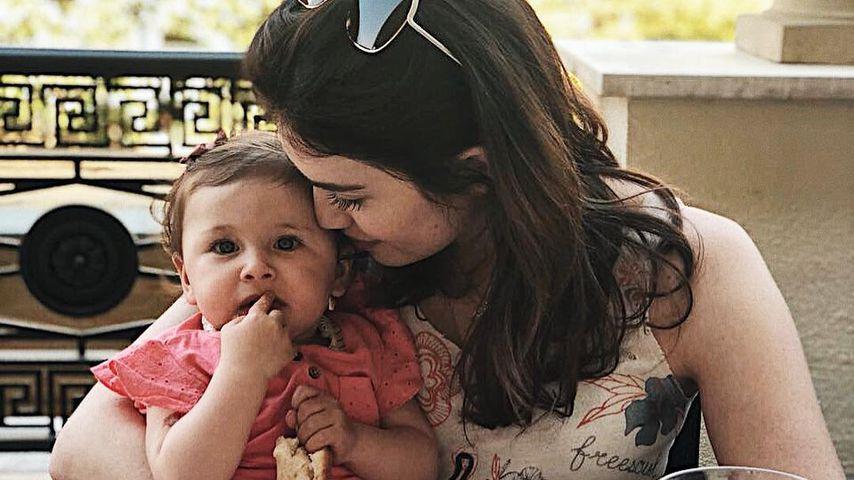 Emilias erster B-Day: Stolze Mama Ira Meindl ganz vernarrt!