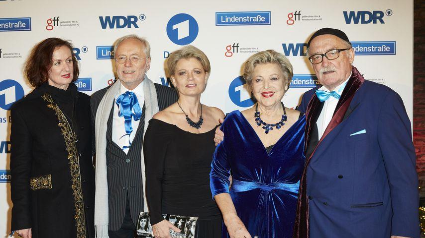 Irene Fischer, Joachim H. Luger, Andrea Spatzek, Marie-Luise Marjan und Hans W. Geißendörfer
