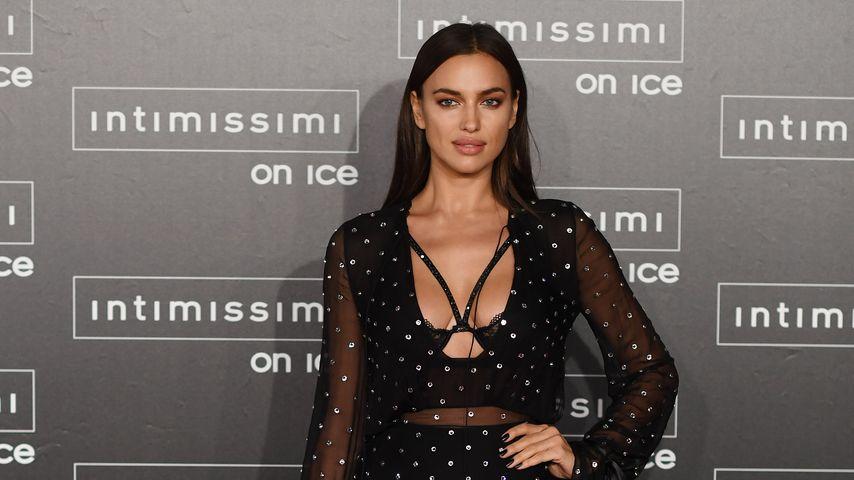 Sexy Red-Carpet-Show: Irina Shayk im Unterwäsche-Kleid!