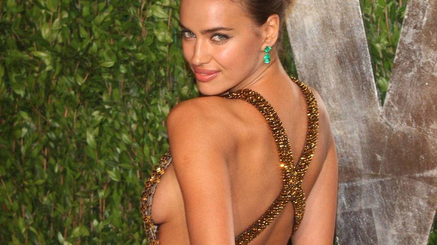 Sexy Seiten-Einblick! Irina Shayk zeigt viel Haut