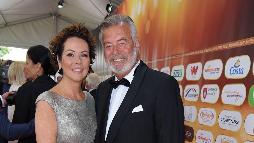 Iris Dahlke und Harry Wijnvoord beim Goldene Sonne 2019 Award