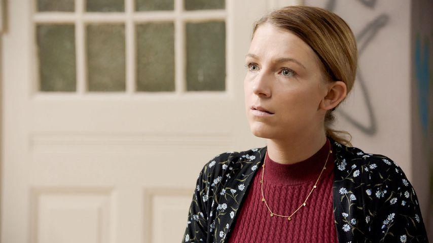 Iris Mareike Steen (spielt Lilly) in einer GZSZ-Szene