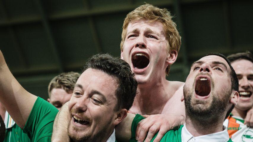 Irische Fans nach dem Einzug ins Achtelfinale bei der EM 2016