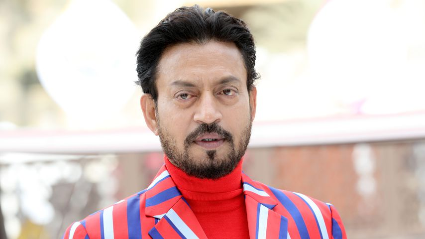 Irrfan Khan beim Dubai International Film Festival, 2017