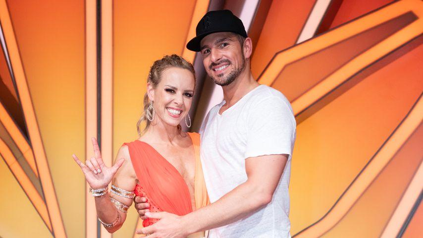 """Isabel Edvardsson und Benjamin Piwko im März 2019 bei """"Let's Dance"""""""