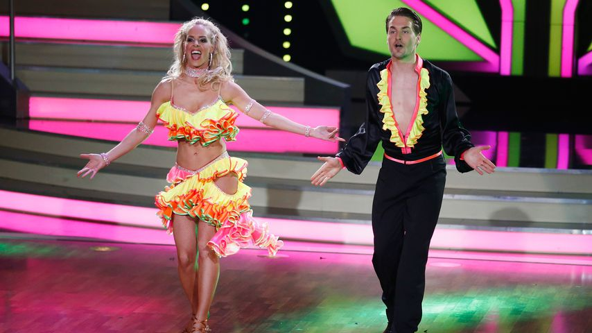 "Isabel Edvardsson und Alexander Klaws bei ""Let's Dance"" 2014"