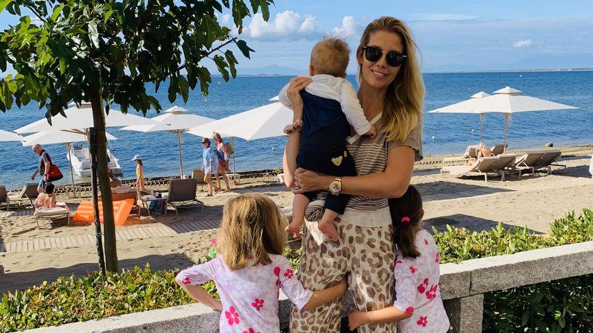 Isabel Vollmer und ihre Kinder