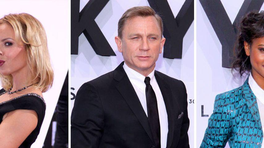 So sexy finden unsere Stars Daniel Craig als Bond