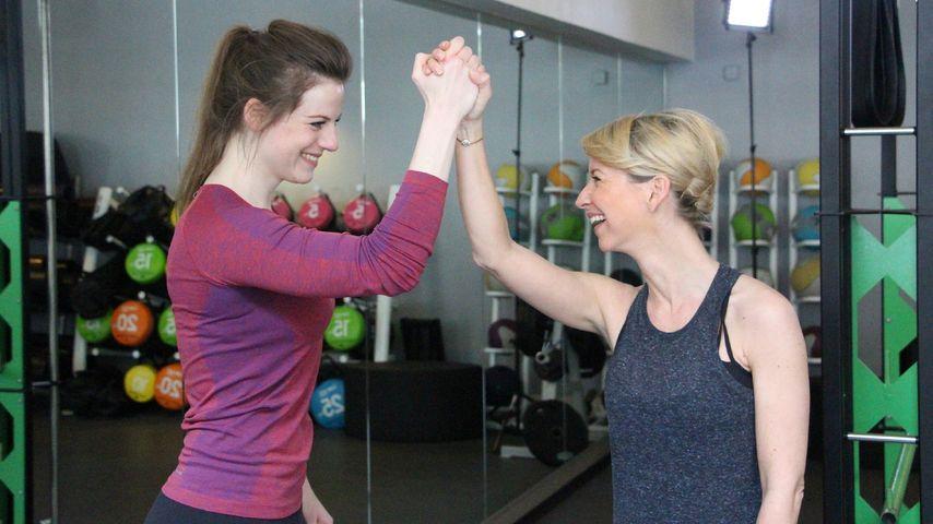 Isabell Hertel und Nora Koppen