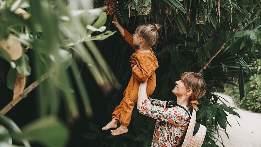 Isabell Horn und ihre Tochter Ella im Dezember 2019