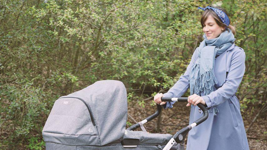 """Müde Mama: Isabell Horns """"kleine Erbse"""" hält sie auf Trab"""