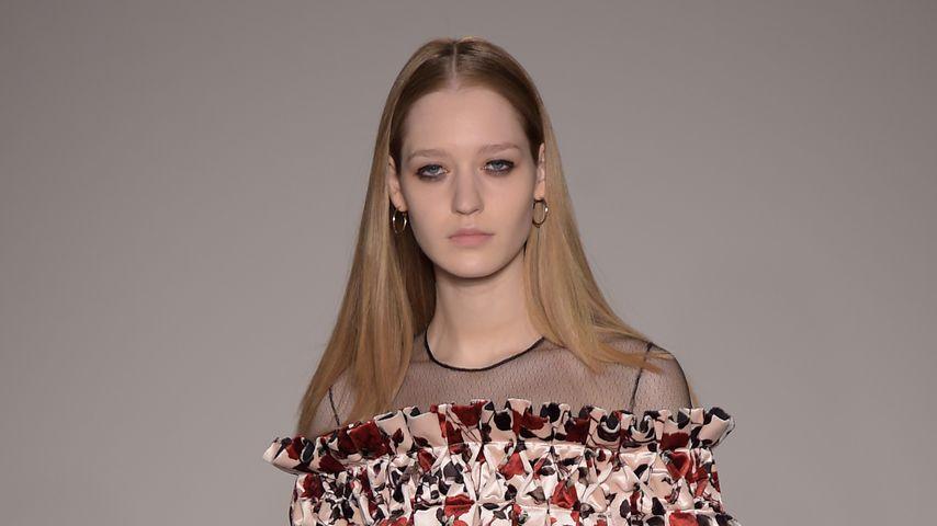 Ivana Teklic auf der Londoner Fashion Week