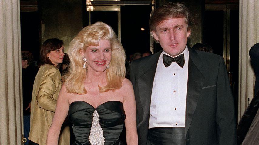 Ivana und Donald Trump 1989