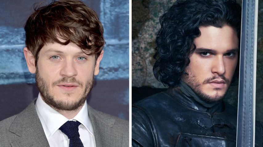 "Collage: Iwan Rheon und Kit Harington alias Jon Schnee (""Game of Thrones"")"