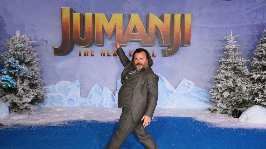 """""""Jumanji""""-Star Jack Black"""