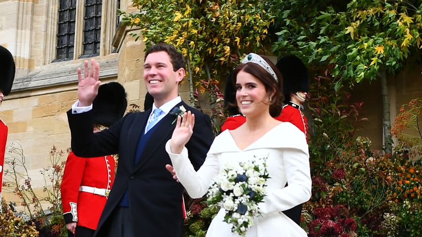 Jack Brooksbank und Prinzessin Eugenie im Oktober 2018