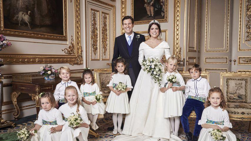 Offizielles Hochzeitsfoto von Jack Brooksbank und Prinzessin Eugenie