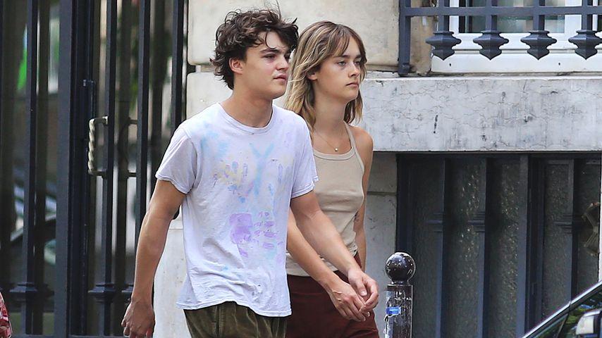 Johnny Depps Sohn Jack: Ist das etwa seine feste Freundin?