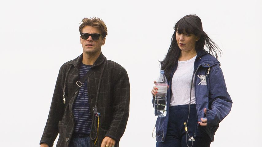 Jack Peñate und Daisy Lowe, Oktober 2019
