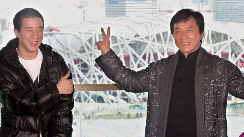 Jackie Chan und sein Sohn Jaycee