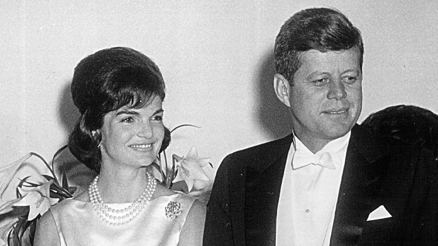 Jackie Kennedy und Präsident John F. Kennedy 1961