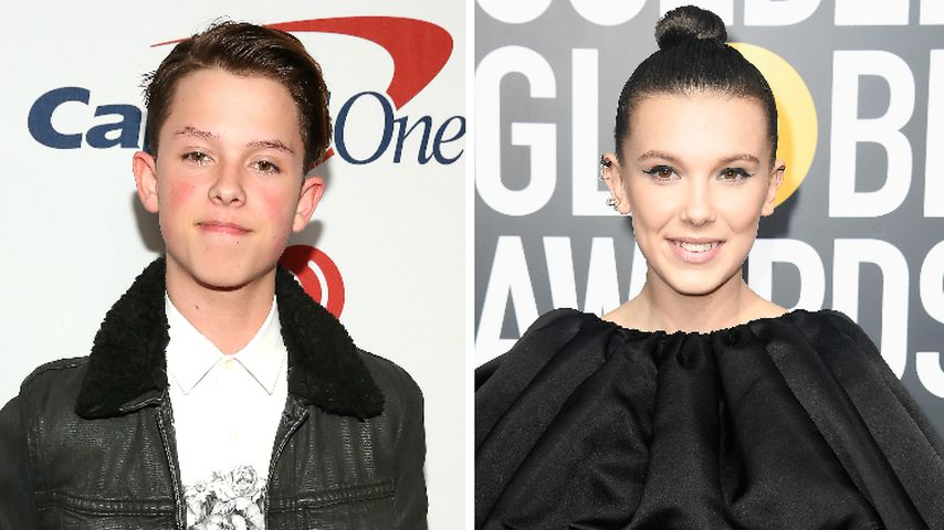 "Musical.ly-Jacob Sartorius datet ""Stranger Things""-Millie"
