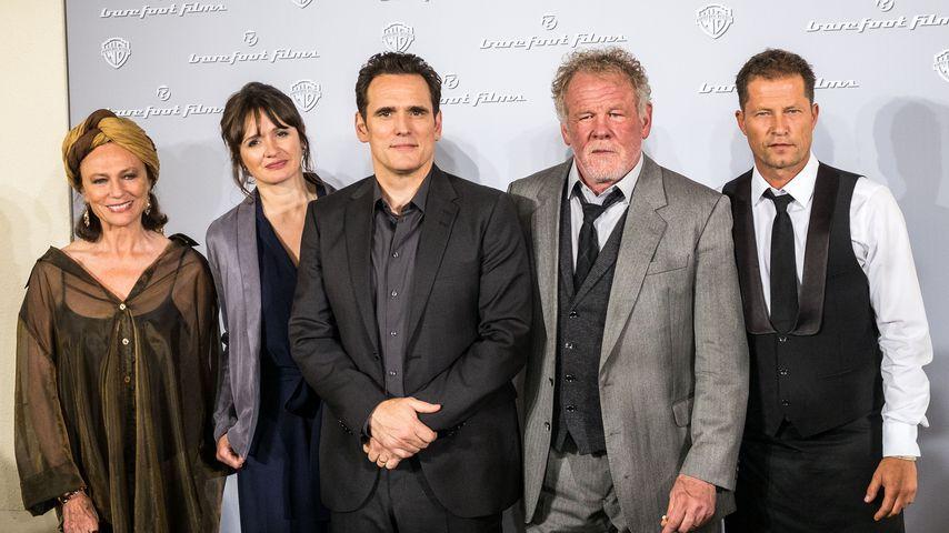 Jacqueline Bisset, Emily Mortimer, Matt Dillon, Nick Nolte und Til Schweiger 2018 in Berlin