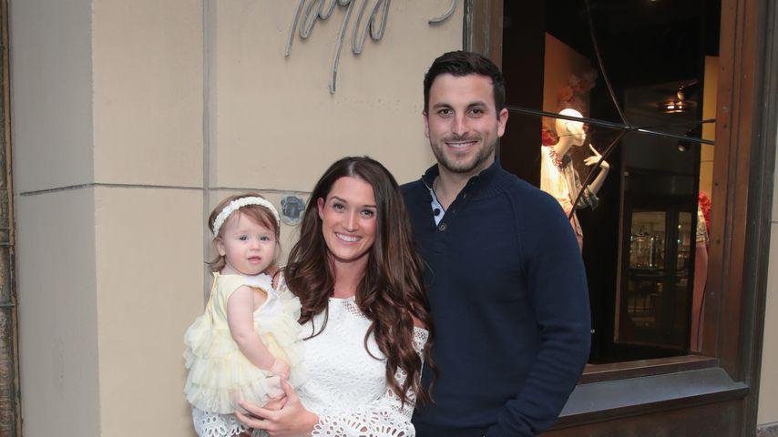 Jade Roper Tolbert und Tanner Tolbert mit ihrer Tochter Emerson