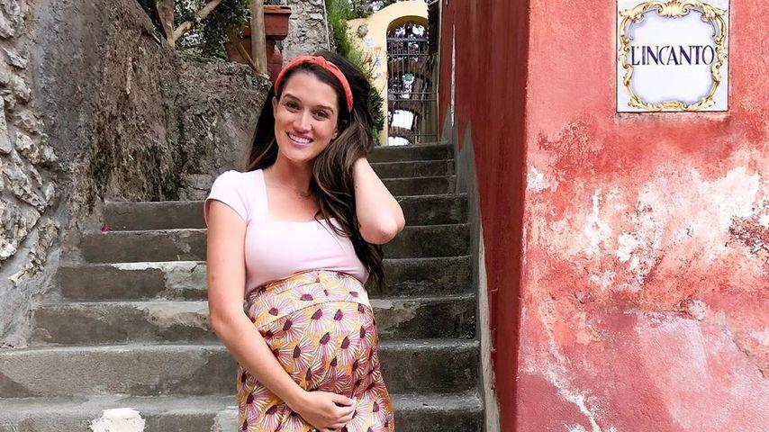 Jade Roper Tolpert in der 30. Schwangerschaftswoche