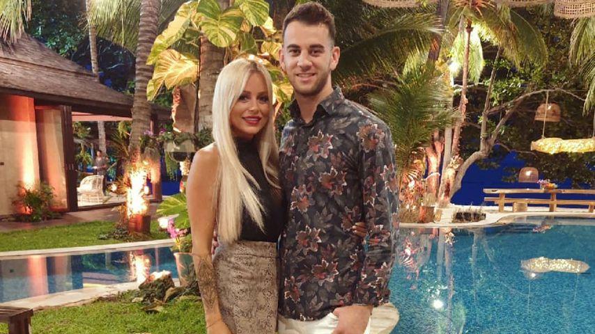 "Jade und Serkan bei ""Bachelor in Paradise"" 2019"