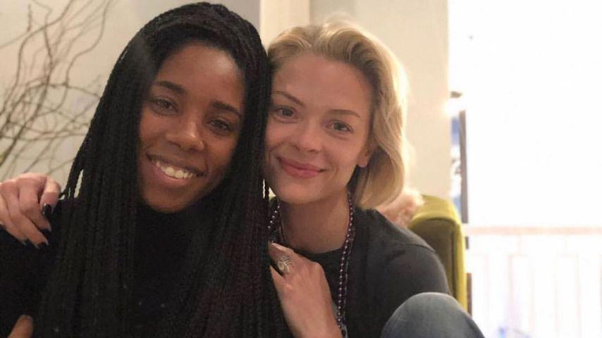 Jaime King und ihre Freundin Krystina in L.A. im Juni 2020