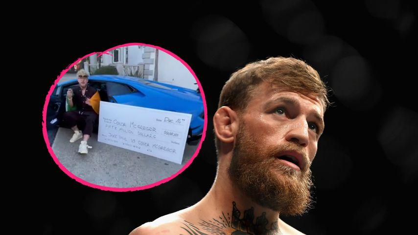 50 Millionen! Jake Paul bot McGregor Megasumme für Boxkampf