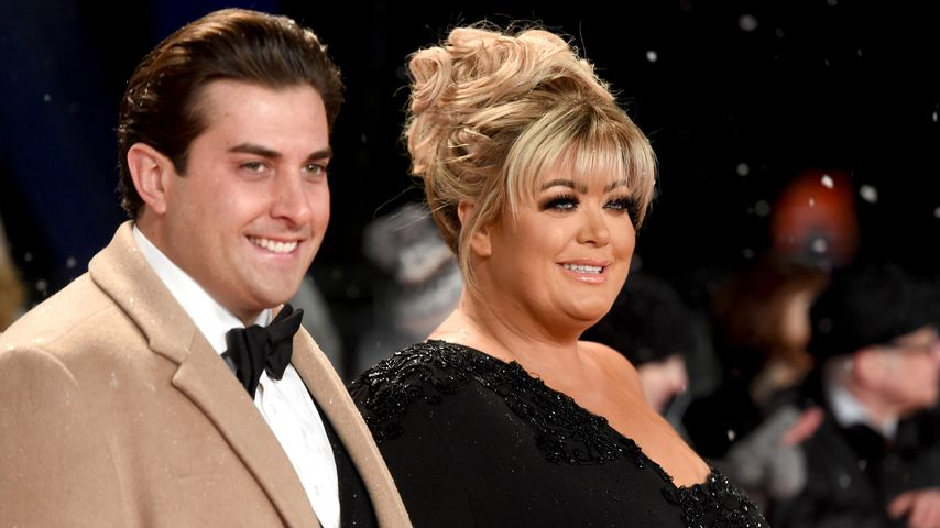 James Argent und Gemma Collins, Januar 2019