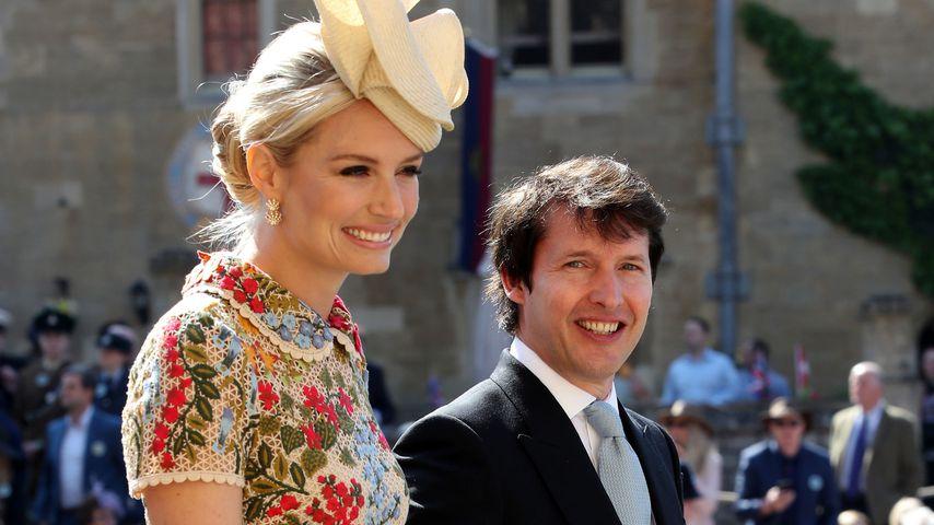 James Blunt mit seiner Frau Sofia Wellesley auf Schloss Windsor