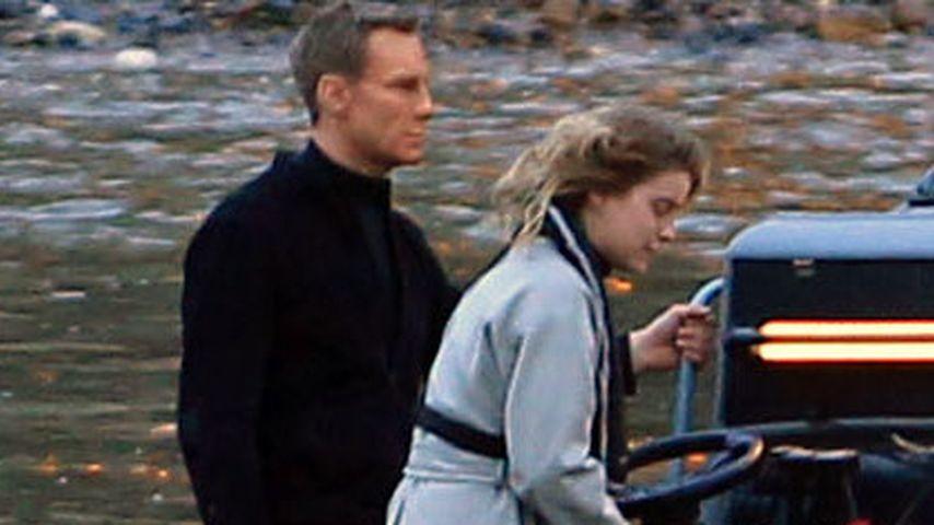James Bond in Action: Hier wird Daniel Craig gedoubelt