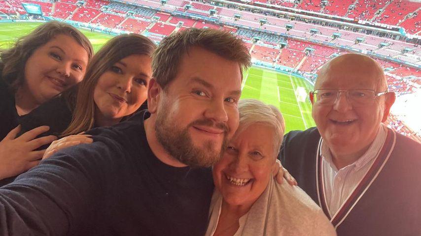 Bei EM: James Corden trifft Familie nach anderthalb Jahren